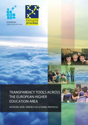 Transparency Tools across the European Higher Education Area 2012 - cover