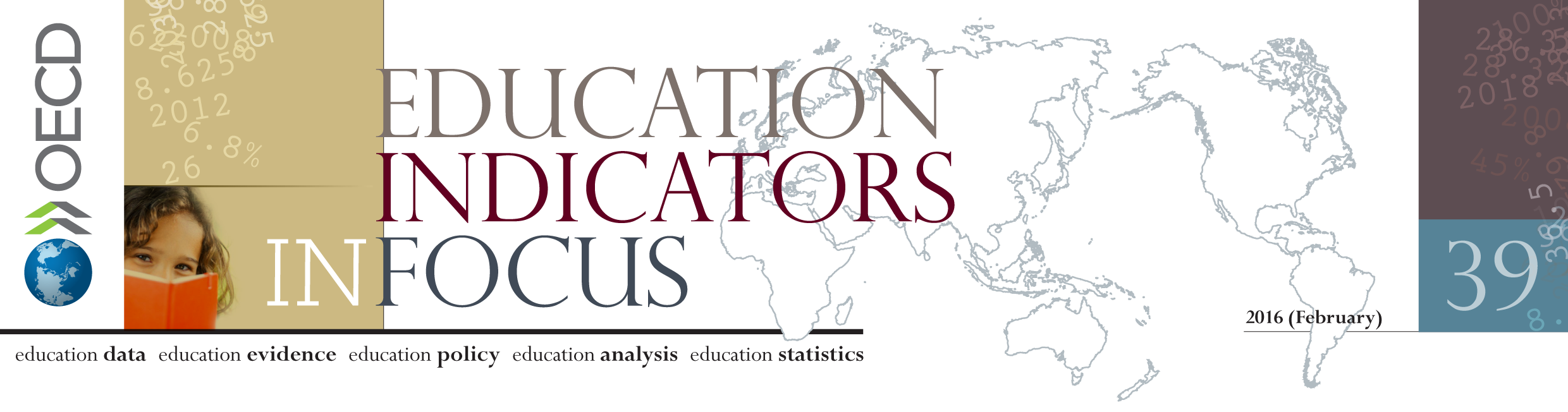 OECD Education indicators in focus - 2016/39 - banner