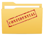 Confidential content - icon
