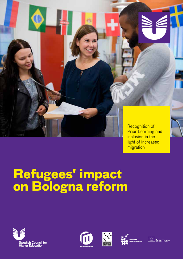 Cover of the Refugees impact on Bologna reform programme